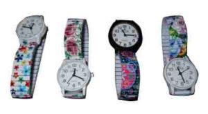 montre élastique femme