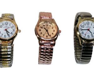 Montre bracelet couleur unie