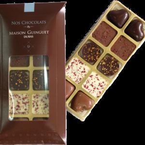 réglette chocolats 80 g